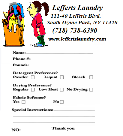 Lefferts Laundry Drop Off Wash Amp Fold Delivery Service