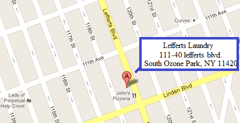 Map of lefferts laundry